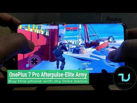 OnePlus 7 Pro Afterpulse Elite Army NEW Versions after updates  gameplay/High graphics /Android 9