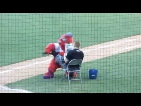Winston-Salem Dash Baseball Fourth Of July Bolt