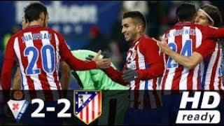 Atletico Madrid Vs Eibar 2-2 All Goals & Extended Highlights 20-05-2018 HD