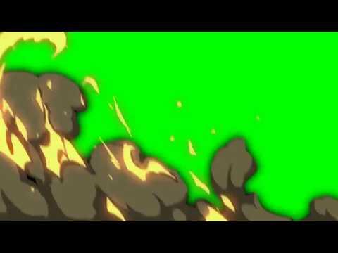 Видео переход   Огонь и Дым Футажи Хромакей Вставка для монтажа #3