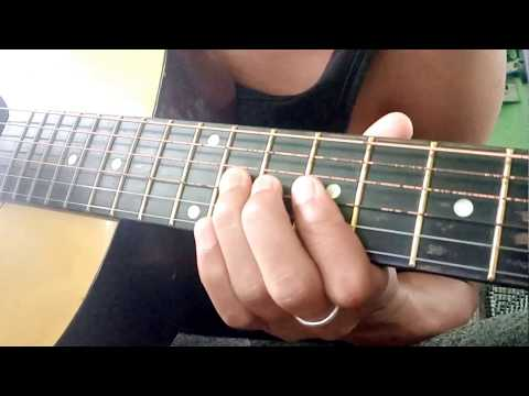 Learn how to play Nokia ringtone on guitar simple and easy tutioral.