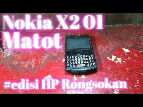 Solusi dan Cara Memperbaiki Tombol Tambah Volume Nokia X2-01.
