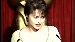 "Helena Bonham Carter - Academy Awards Oscar interview - ""Wings of the Dove"" - 1997"