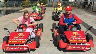 Tokyo Mario Kart In Real Life