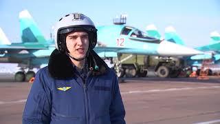 Военнослужащие ЦВО поздравили женщин, прочитав им стихи Гамзатова