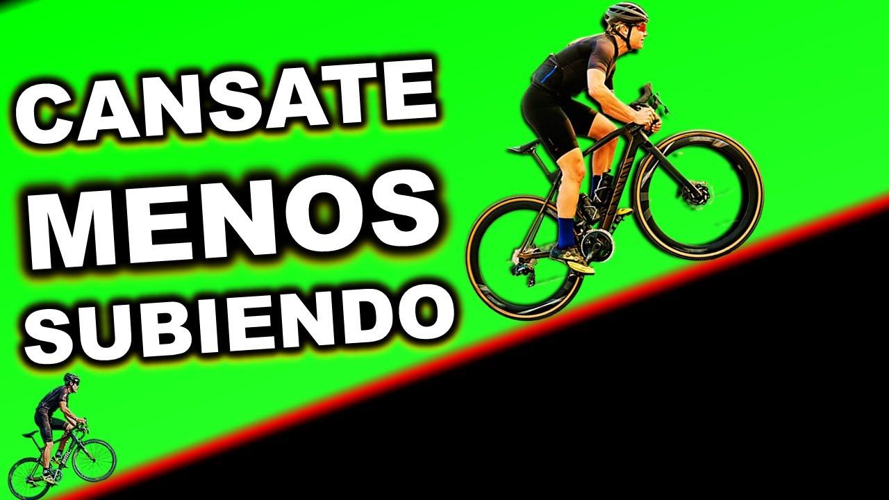COMO CANSARTE MENOS AL SUBIR COLINAS  EN BICICLETA │Consejos de Ciclismo