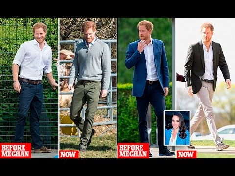 How Meghan Markle has given Prince Harry a style makeover?