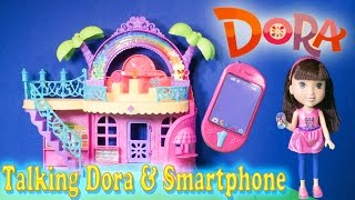 Unboxing the Dora the Explorer Talking Dora and Smartphone Toys