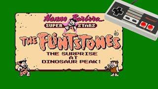 The Flintstones: Surprise at Dinosaur Peak - NES LetsPlay Deutsch