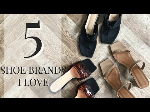 5 Shoe Brands To Have On Your Radar
