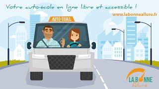 La Bonne Allure : auto-école en ligne libre et accessible !
