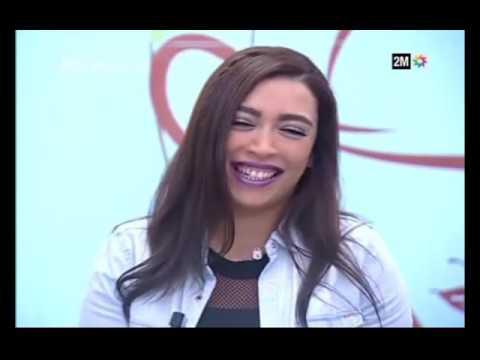 لقاء مع الفنانة لمياء منهل على القناة المغربية الثانية في برنامج صباحيات 2M
