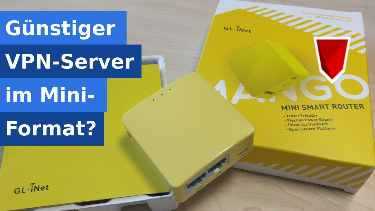 GL-iNet Mango - Günstiger Mini-Router als VPN Server?