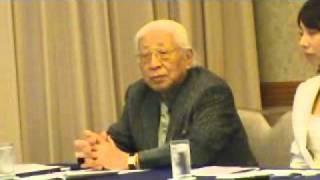 地域政党 京都党結党記者会見(堀場雅夫 最高顧問)20100830