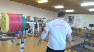 Aleksey Lovchev (strongest man in the world) weightlifting training