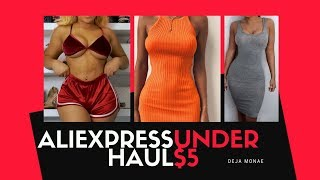 ???? ALIEXPRESS TRY ON HAUL ALL UNDER $5 ????