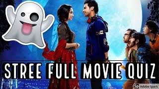 STREE FULL MOVIE QUIZ 2018 | Hindi Movie Stree 2018 Quiz | Source of Bollywood