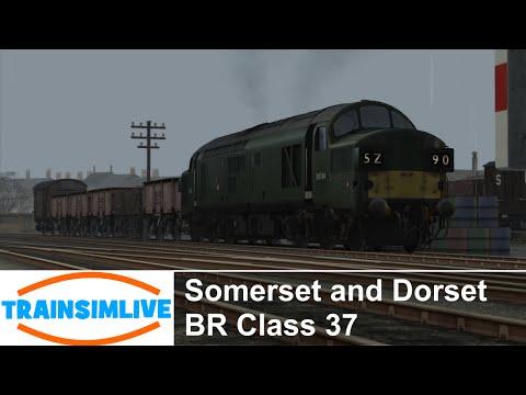 Train Simulator 2015 - Somerset and Dorset, Class 37