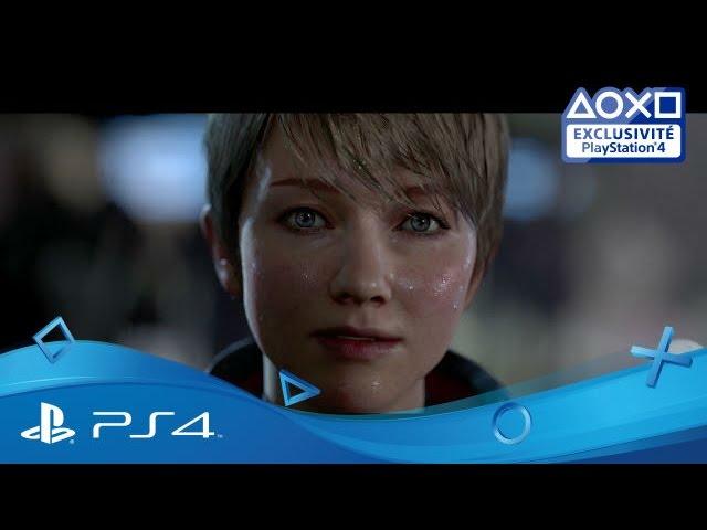 Detroit: Become Human - Trailer d'annonce en français   Disponible   Exclu PS4