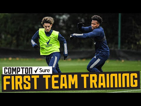 Back from international duty!   Squad reunite and train ahead of Southampton