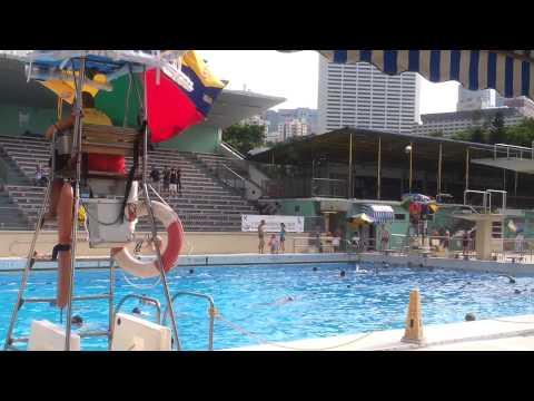 1-9-2013 Hong Kong Victoria park swimming pool - last day