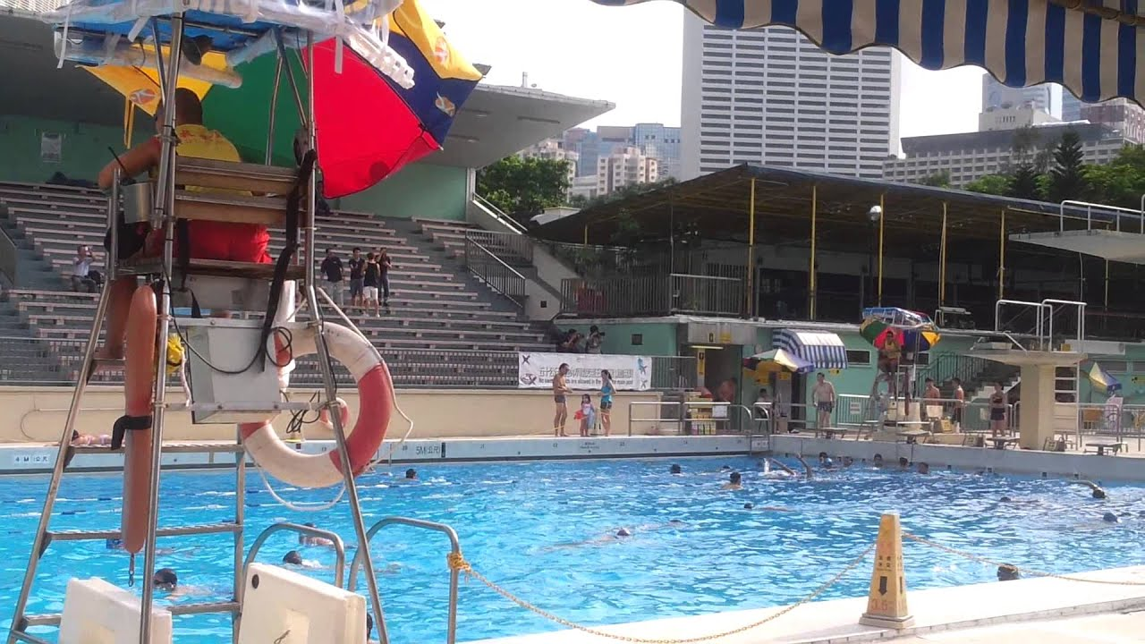 1 9 2013 Hong Kong Victoria Park Swimming Pool Last Day Youtube