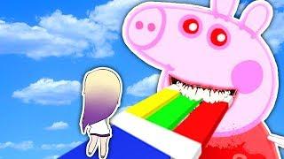 ESCAPA DE PEPPA PIG MALVADA EN ROBLOX