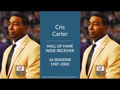 Cris Carter: Hall of Fame Football Wide Receiver