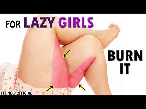 SIMPLE THIGH FAT BURNING WORKOUT FOR LAZY GIRLS