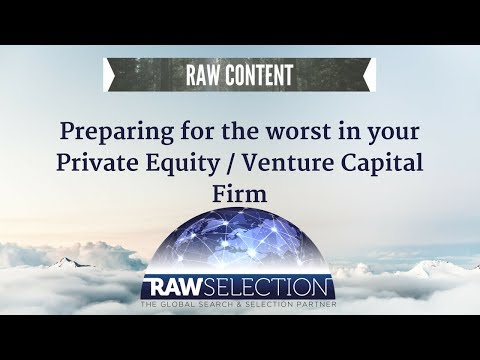 Prepare for problems in your Private Equity & Venture Capital firm