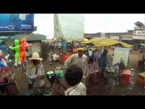 Cambodia - bus to Stung Treng