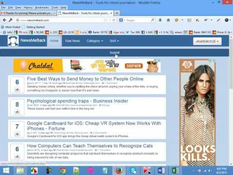 social bookmarking class