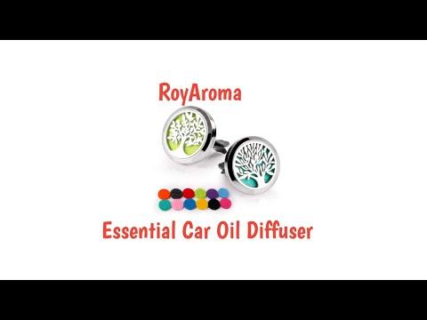 royaroma-2pcs-essential-oil-car-diffuser-kit