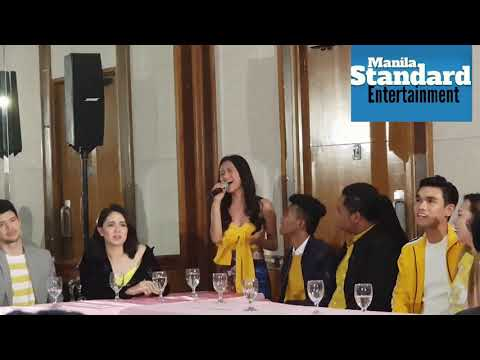 Golden Cañedo, Jong Madaliday and other Clashers impromptu song number @ STUDIO 7 press launch