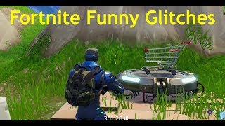 Fortnite Battle Royale Invisible player Glitch, Shopping cart kills, and easy wins (Funny Moments)