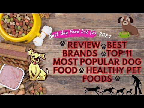 Best dog food list for 2021| Review | Best Brands | Top 11 Most Popular Dog Food | Healthy Pet Foods