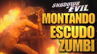 TUTORIAL: Montando e usando o ESCUDO ZUMBI - Shadows of Evil BO3 Zombies