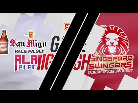 San Miguel Alab Pilipinas v Singapore Slingers | Highlights | 2018-2019 ASEAN Basketball League