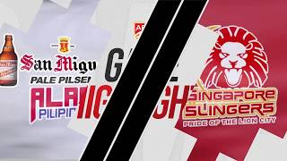 San Miguel Alab Pilipinas v Singapore Slingers | Highlights | 2018-2019 ASEAN Basketball League
