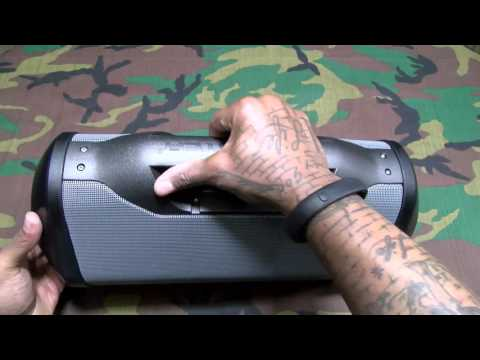 The Monster Blaster - The Best Outdoor Bluetooth Boom Box