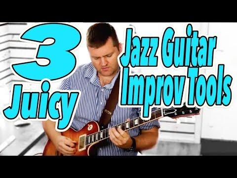 3 JUICY jazz guitar improv tools