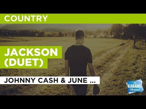 Jackson (Duet) in the style of Johnny Cash & June Carter | Karaoke with Lyrics