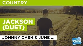 Jackson (Duet) in the style of Johnny Cash & June Carter | Karaoke with Lyrics