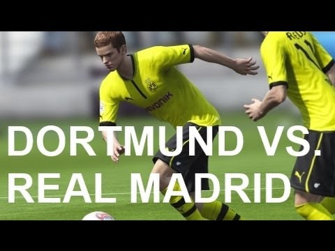 Borussia Dortmund vs Real Madrid - FIFA 13 Prono Travel Video