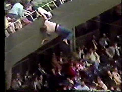 The KiddChris Show - 1981: Fans Almost Falls From Riverfront Stands