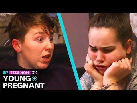Ep #5: Laura And Morgan's Tough Relationship Chat | Teen Mom: Young & Pregnant UK