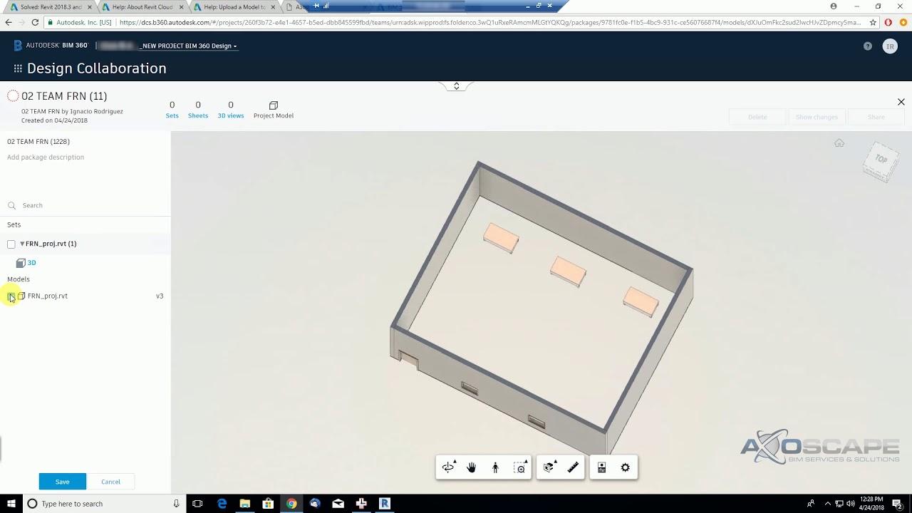 Bim 360 Design Design Collaboration Reusing Packages 13 17 Youtube