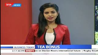 Tea farmers receive bonus for 2018