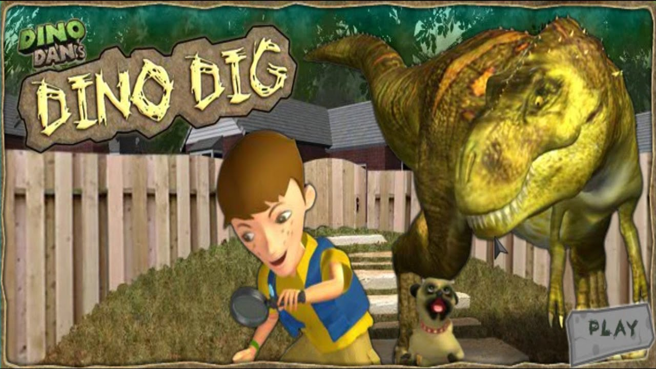 Dino Dan s Dino Dig Game  Dino Dan Games   Dinosaur Games English     Dino Dan s Dino Dig Game  Dino Dan Games   Dinosaur Games English   Dino  Dan Full English Game   YouTube