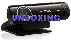Creative LIVE! CAM CHAT 720 HD - UNBOXING